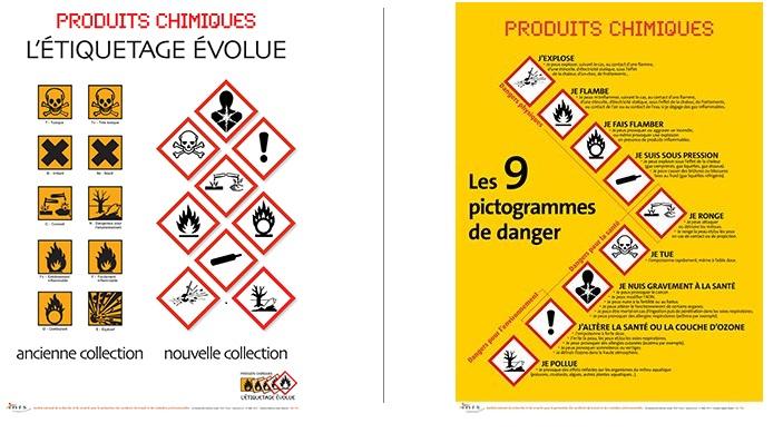 Les 9 nouveaux pictogrammes de danger, INRS